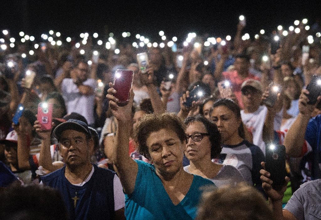 Veillée de prière à El Paso (Texas) après la turie dans un centre commercial de la ville, le 4 août 2019