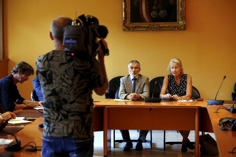 Le gouvernement monégasque a dû improviser un point presse ce mercredi, en présence du conseiller de gouvernement-ministre de l'Intérieur, Patrice Cellario, et du procureur général de Monaco, Sylvie Petit-Leclair.
