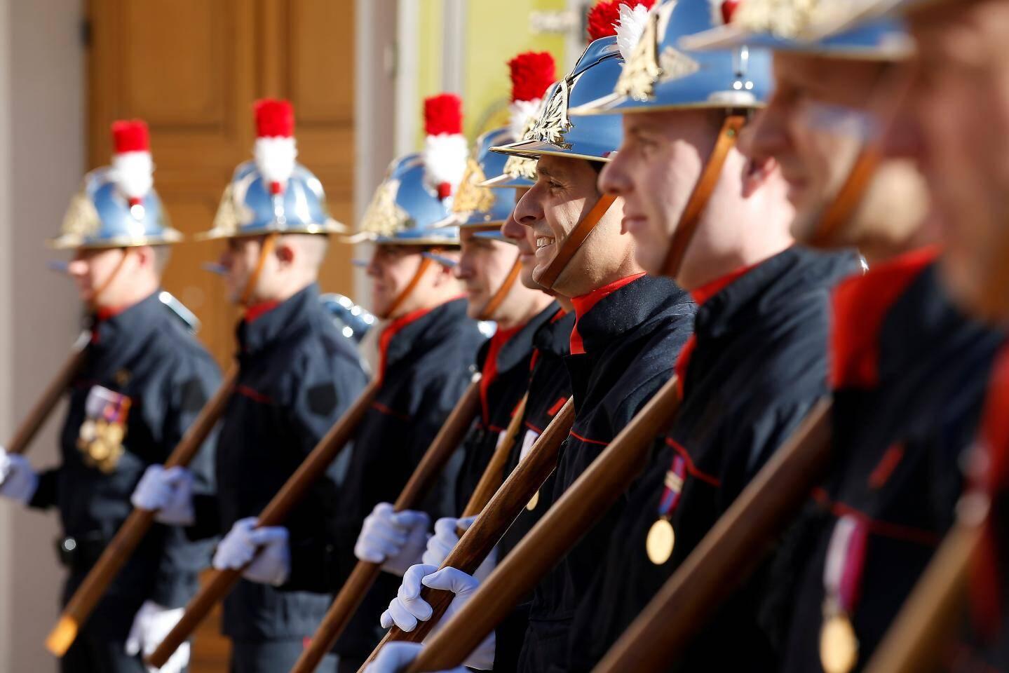 Le corps des pompiers de Monaco a une moyenne d'âge inférieure à 40 ans.