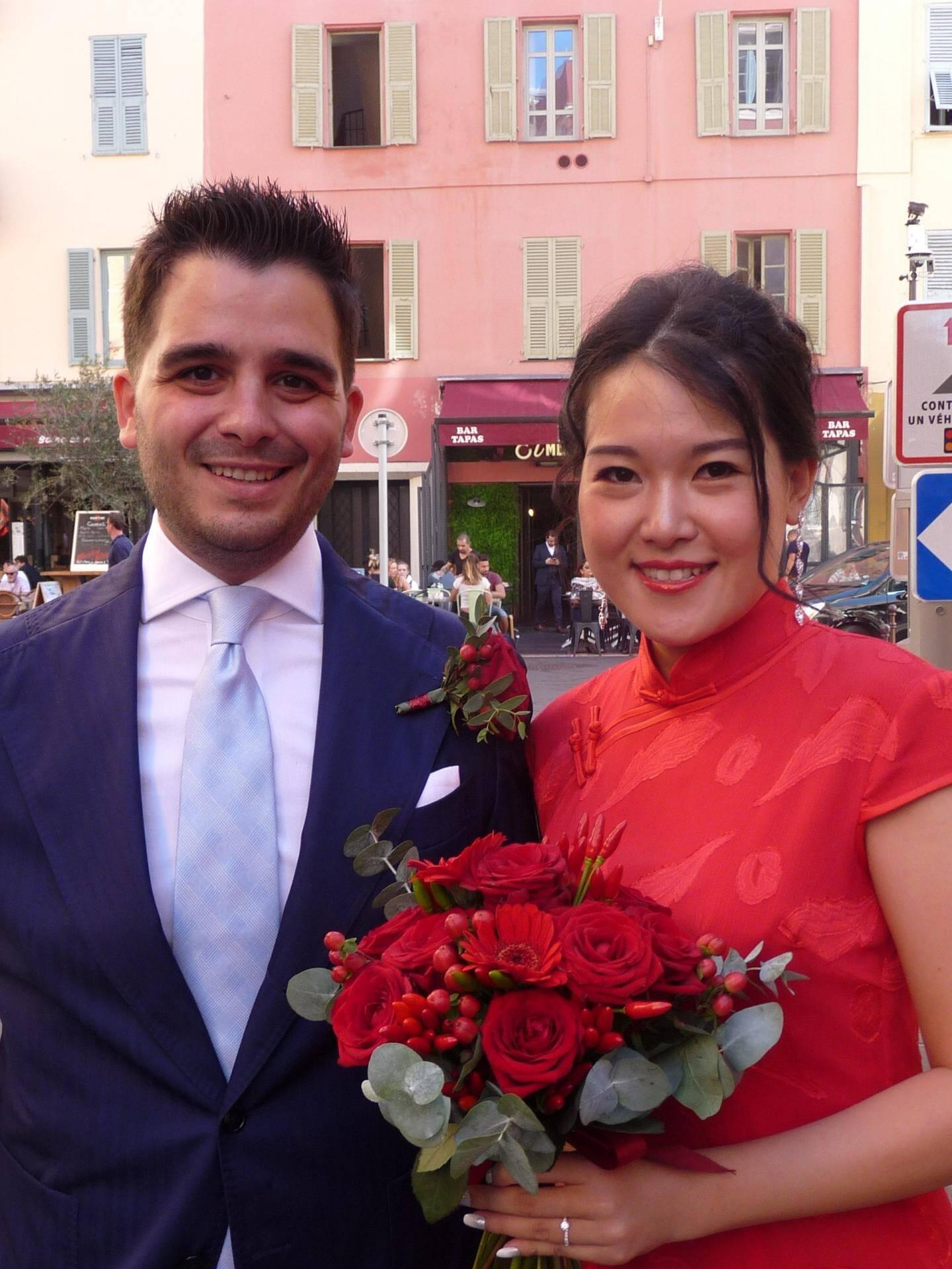 Gérardo et Xiwen