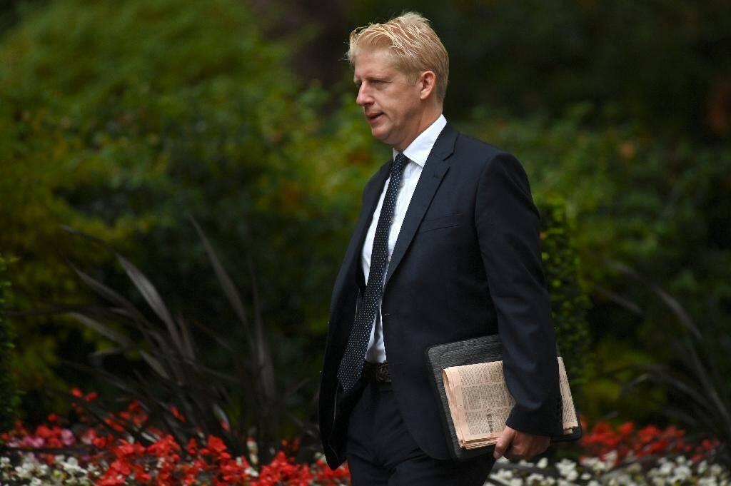 Jo Johnson, le frère du Premier ministre britannique Boris Johnson, le 4 septembre 2019 à Londres