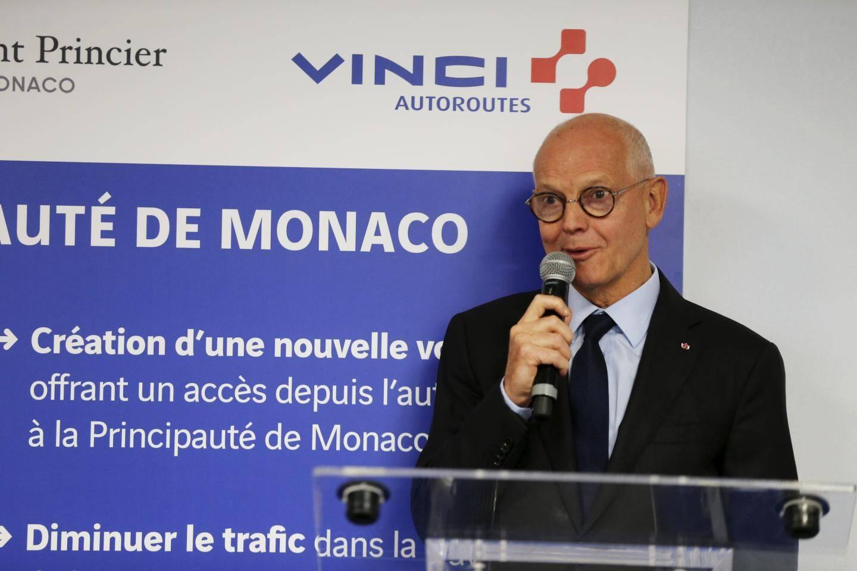 Serge Telle, ministre d'Etat du gouvernement princier de Monaco.