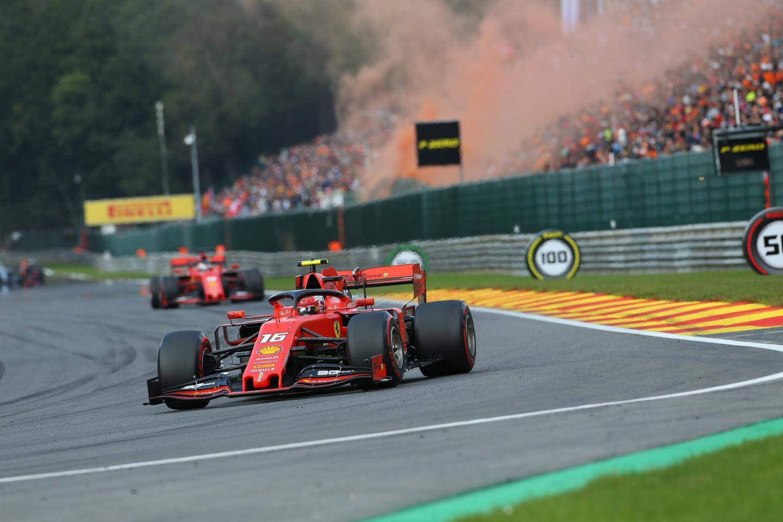 La marée orange des fans de Max Verstappen a vu rouge, hier à Spa!