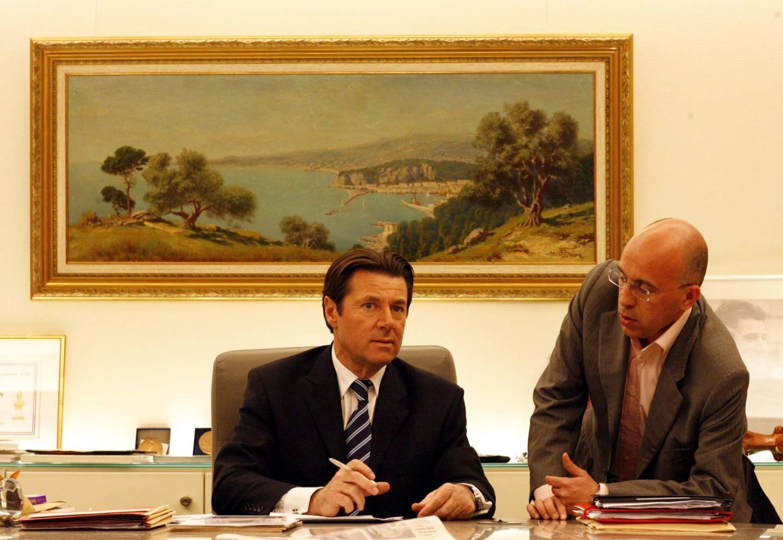 Eric Ciotti, premier adjoint au maire de Nice pendant huit mois en 2008.