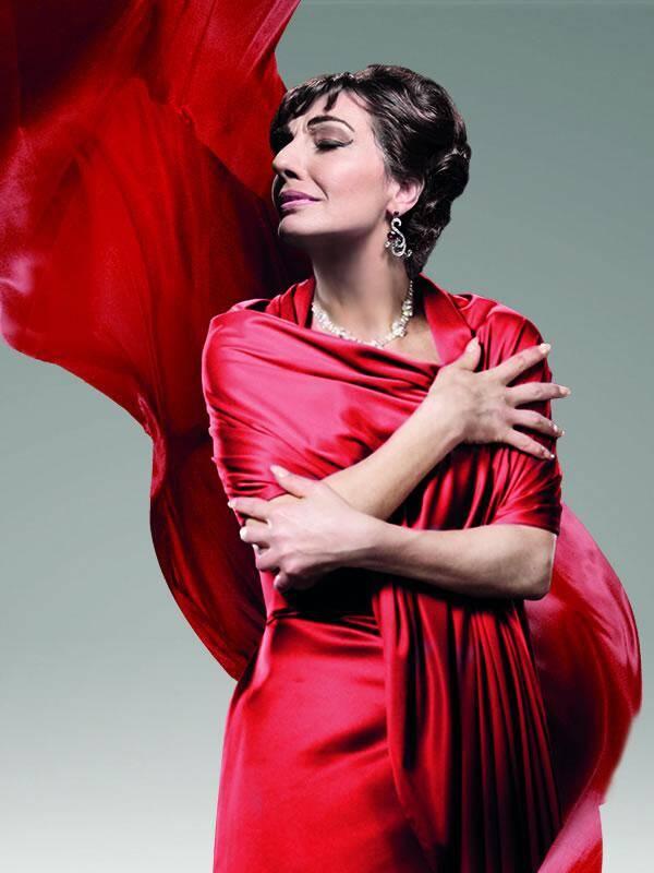 Hommage à Maria Callas.