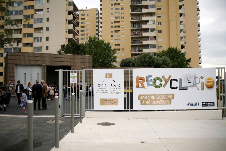 La recyclerie des Moulins a deux ans d'existence.