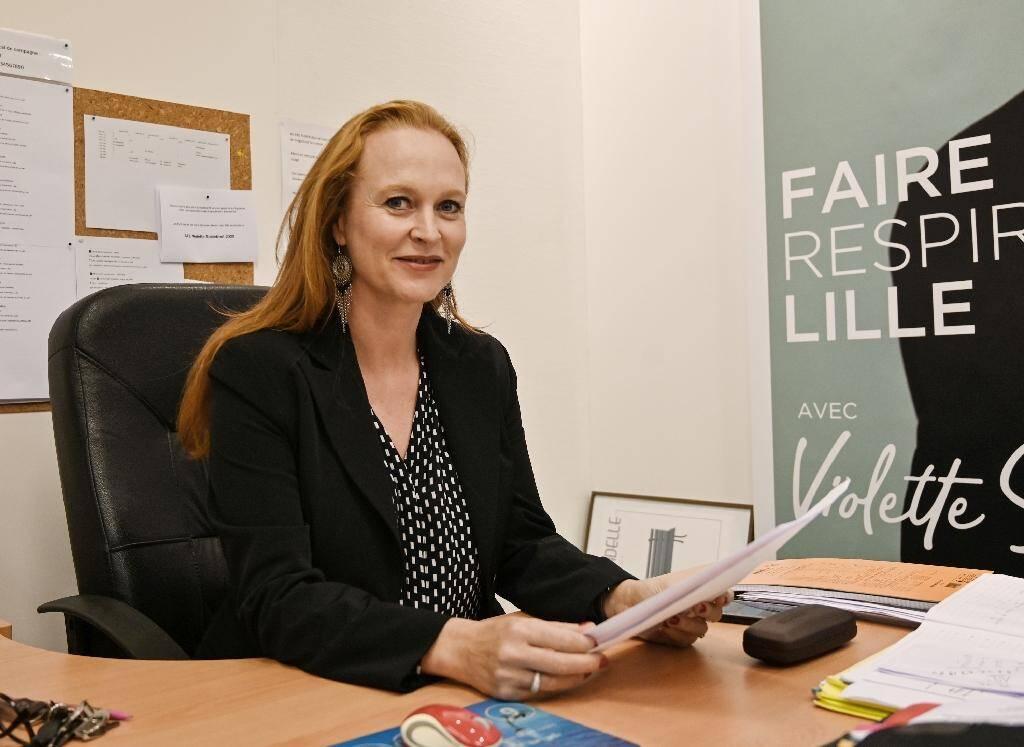 L'ancienne directrice de cabinet de Martine Aubry, Violette Spillebout, à Lille le 18 octobre 2019