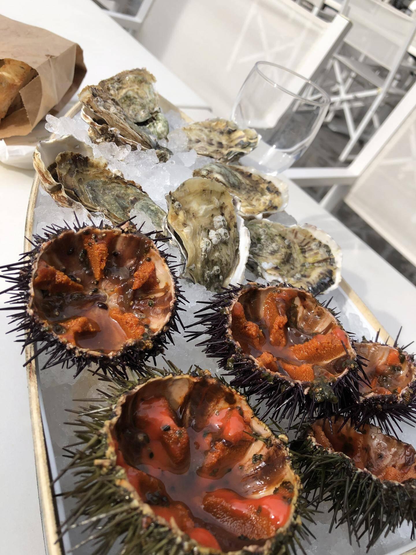 La saison des oursins a commencé : c'est un concentré de la mer, iodé mais plein de douceur. Un régal !