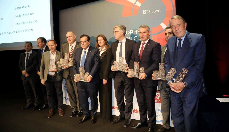 Le manager de l'année et les six autres lauréats ont été interviewés sur scène par «Monaco-Matin».