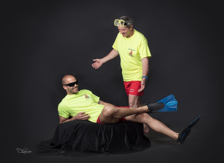 Séquences humour pour les maîtres-nageurs sauveteurs.