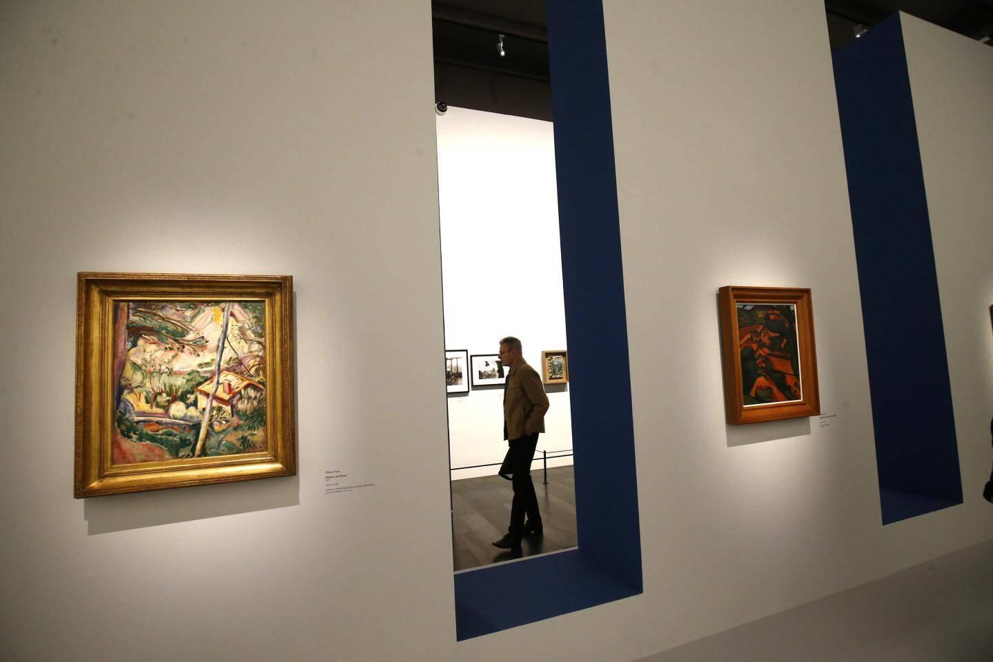 Devant un public venu en nombre et quelque peu indiscipliné, Hubert Falco n'a pas caché sa joie et sa fierté d'avoir réussi à monter une telle exposition dans un Musée d'art à la rénovation réussie.