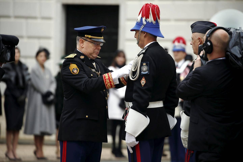 Le maréchal des logis major Patrick Fantino a été fait chevalier dans l'Ordre de Saint-Charles.