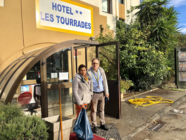 Jean-François Bravo et son épouse Mery sont totalement dévastés par les conséquences de cet épisode climatique hors norme.