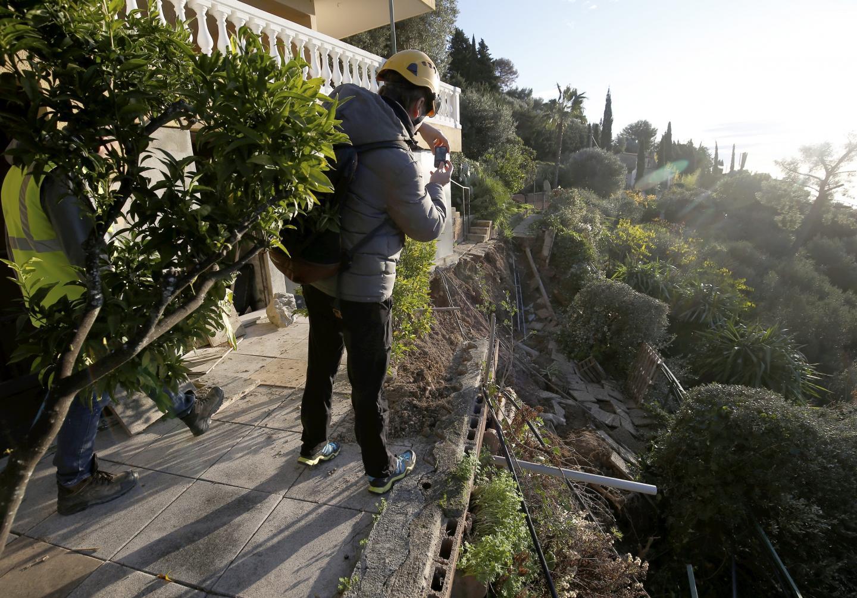 Grégory Mesly, ingénieur géologue mandaté par la Ville de La Turbie, estime que le mur de soutènement n'était pas adapté au contexte géologique.