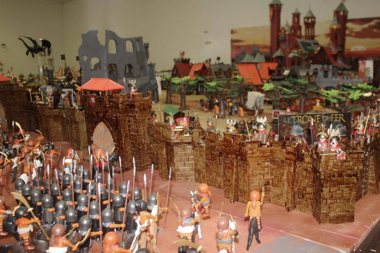Les grands enfants ont rendez-vous au Luc pour une exposition de Lego et Playmobil.