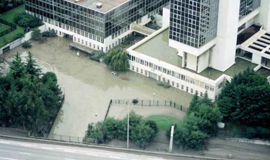 La Cadam inondé en 1994.