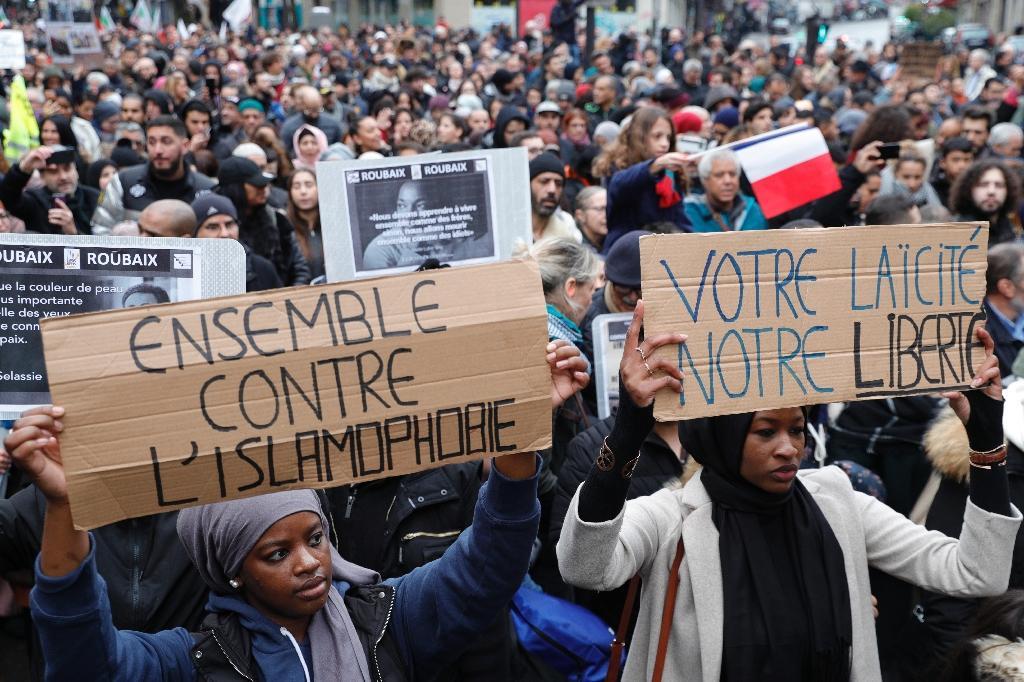 Manifestation contre l'islamophobie, le 10 novembre 2019 à Paris