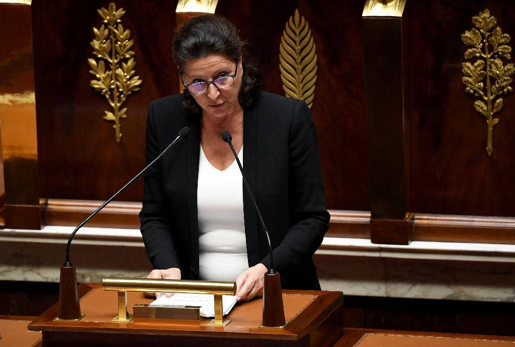 La ministre de la Santé Agnès Buzyn, àl'Assemblée nationale à Paris, le 7 octobre 2019