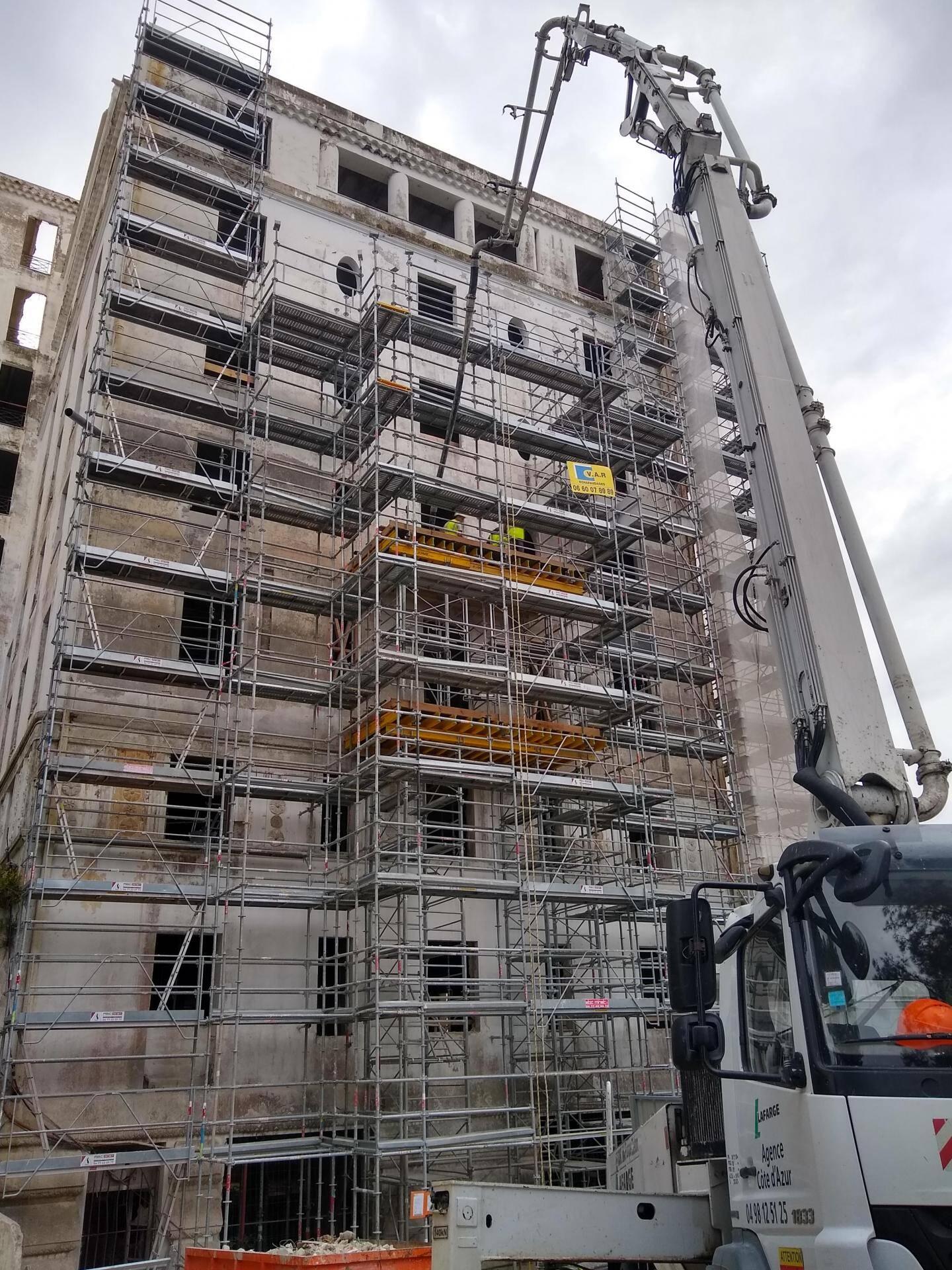 Après la façade, place à de nouveaux balcons qui seront soumis à l'approbation de l'ABF.