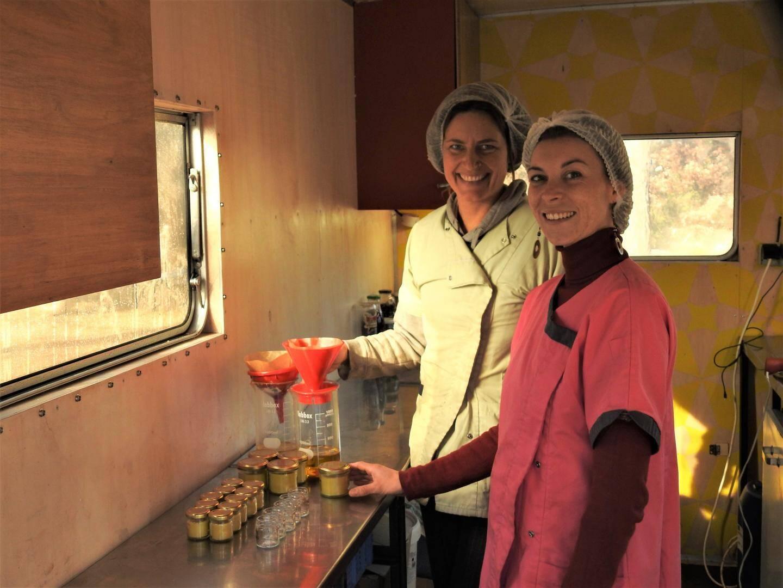Sarah et Primelle souhaiteraient mieux aménager la Bzzz mobile afin d'être plus efficace.