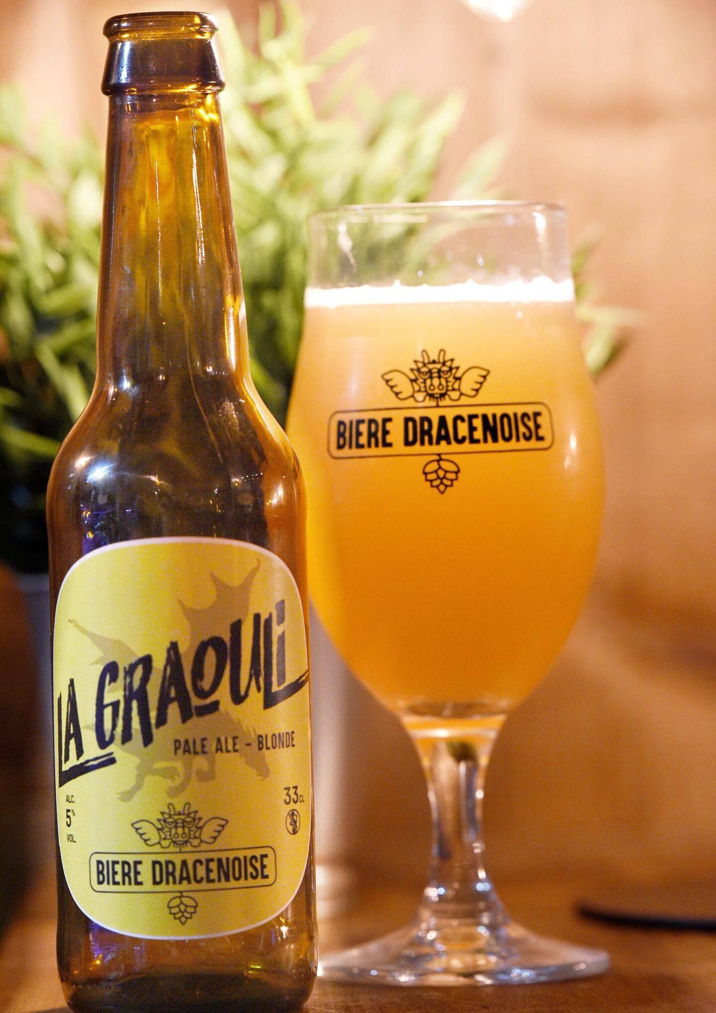 La Graouli, une bière 100% dracénoise.