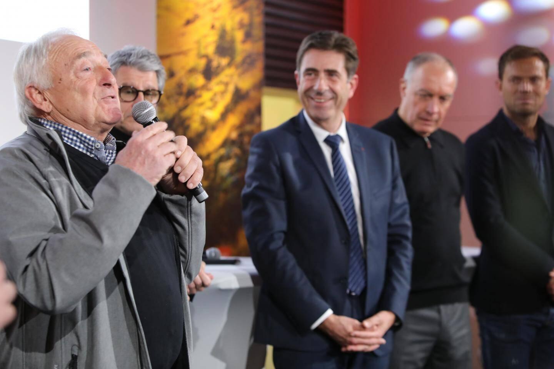 Gilbert Bellone a rendu un hommage à Raymond Poulidor son ancien coéquipier.