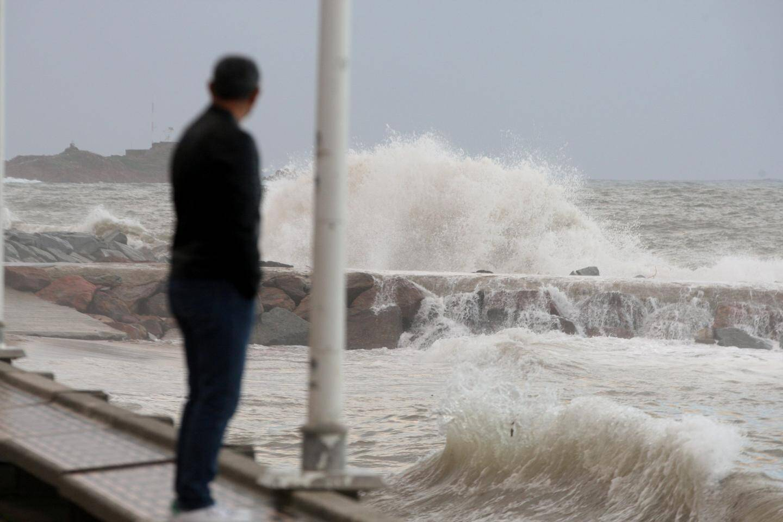 Coup de mer sur le littoral fréjuso-raphaëlois.