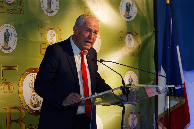 « L'année 2019 a été riche en événements, que ce soit au niveau local ou national », a déclaré le maire.