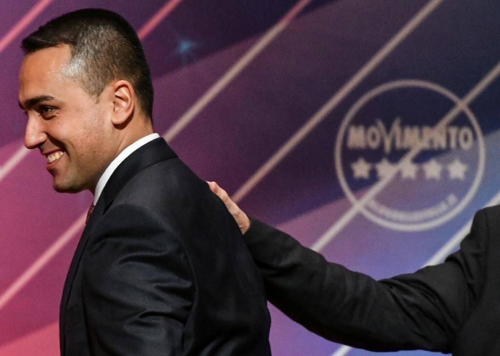 Luigi di Maio, le ministre italien des Affaires étrangères et président démissionnaire du M5S, le 22 janvier 2020 à Rome