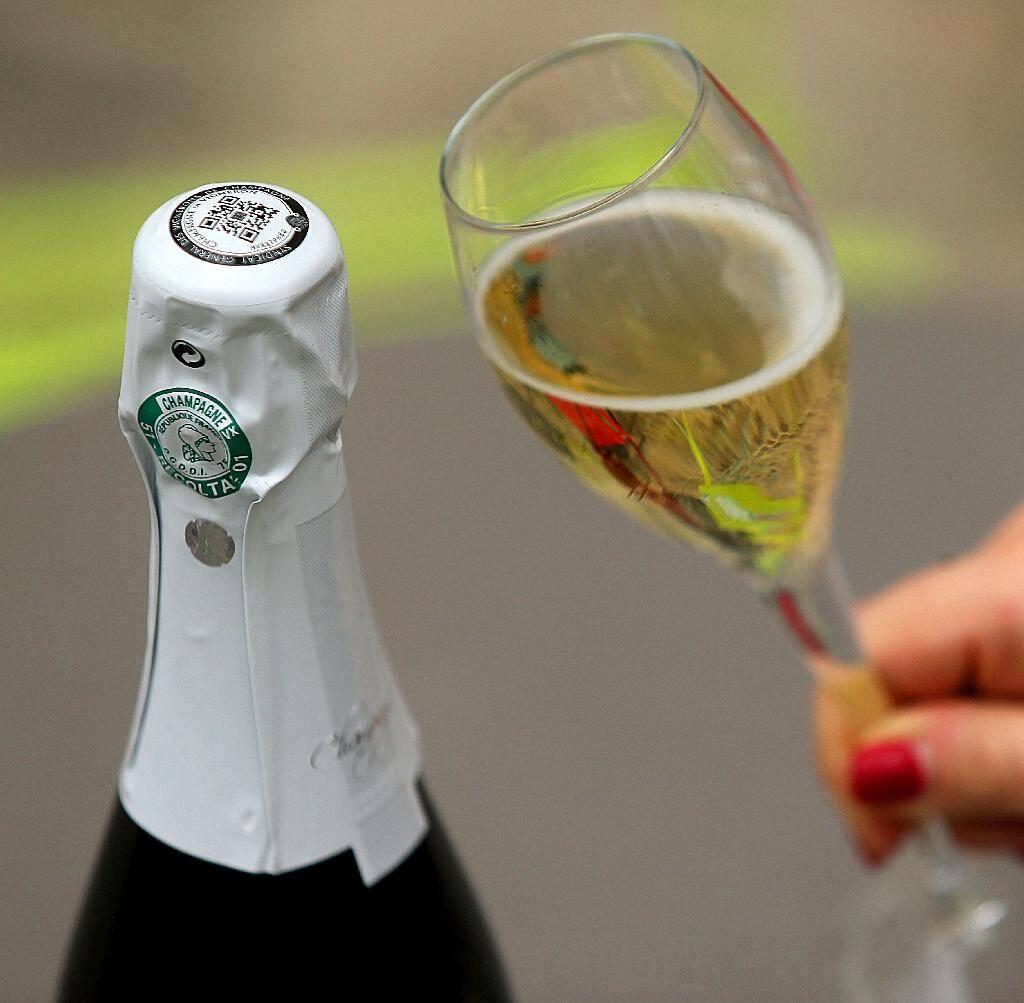 Le champagne pourrait aussi faire les frais du mécontentement des Etats-Unis