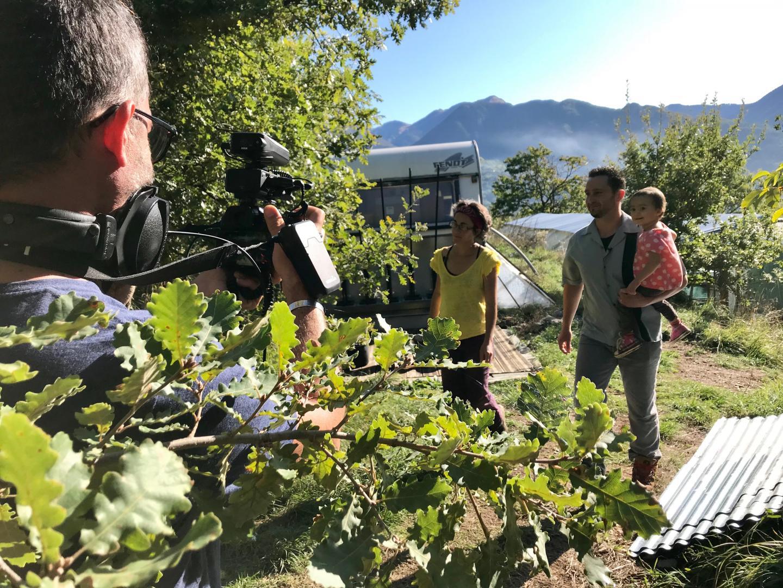 A Roquebillière, à 1000 m d'altitude, Muriel et Hervé nous ont fait découvrir leur micro-ferme où ils cultivent de la spiruline.