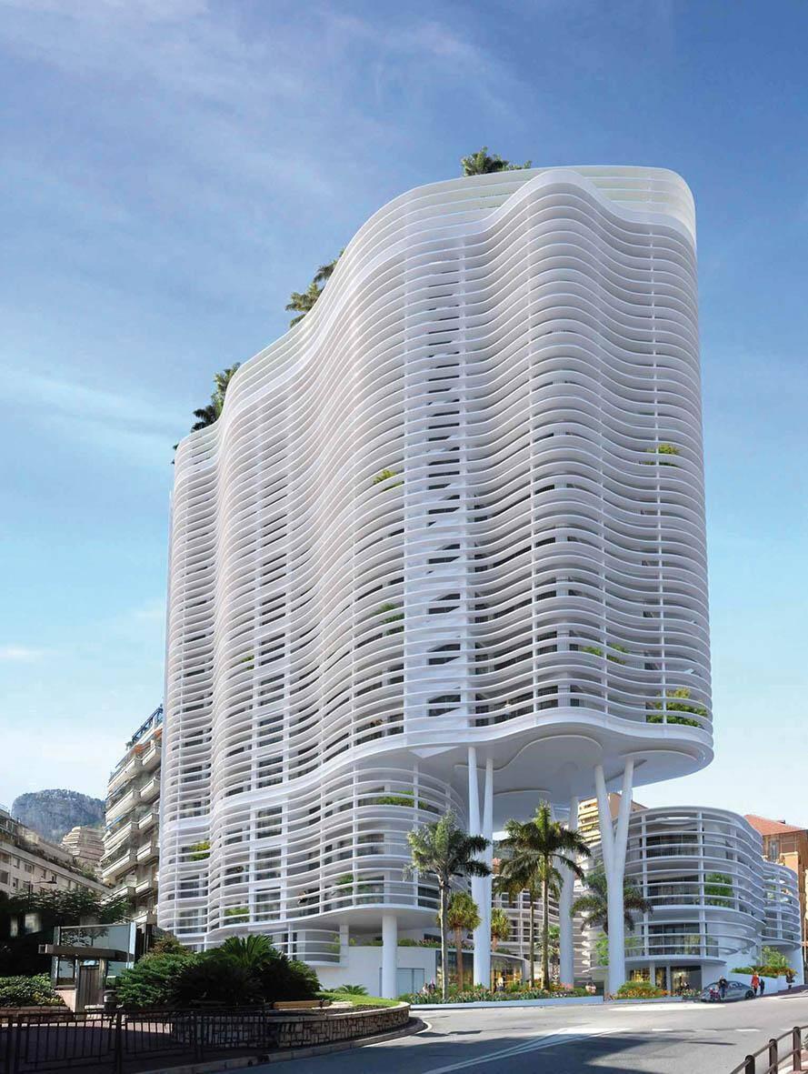 Fin 2022, 15 niveaux d'habitation, quatre de parking, et une crèche seront livrés en lieu et place de l'ancien Palais Honoria et de la Villa Le Mas.