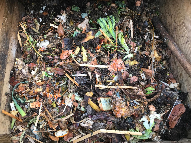 Le processus prend environ 8 mois, pour que les déchets se transforment en terreau.