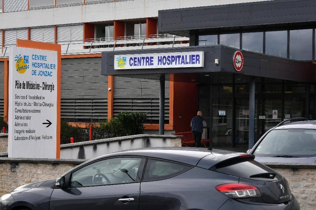 L'hôpital de Jonzac (Charente-Maritime), le 29 février 2020