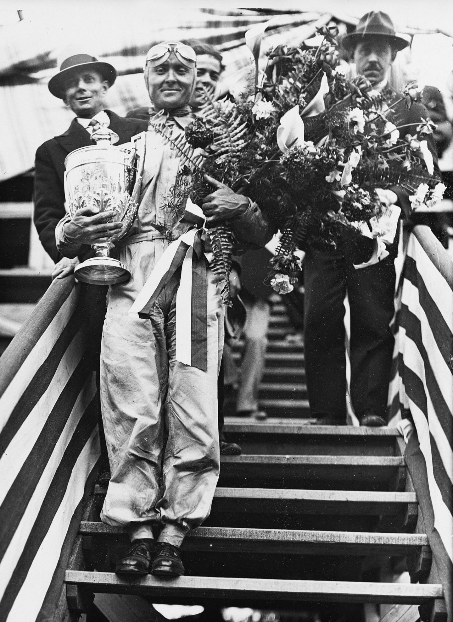 Louis Chiron en 1931.
