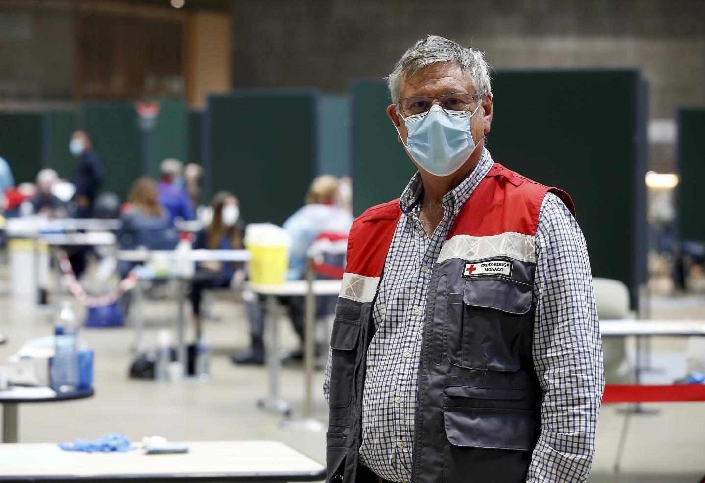 Philippe Repiquet, médecin référent au centre de dépistage du Grimaldi Forum.