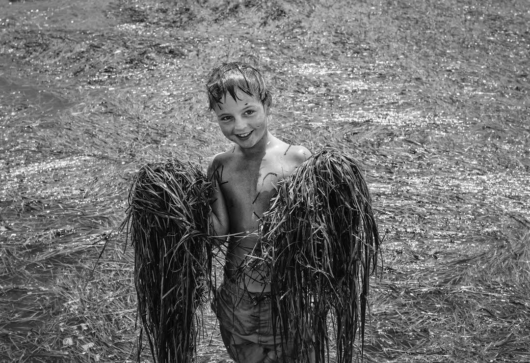 Angelos, l'ange de la lagune à Messolongi.