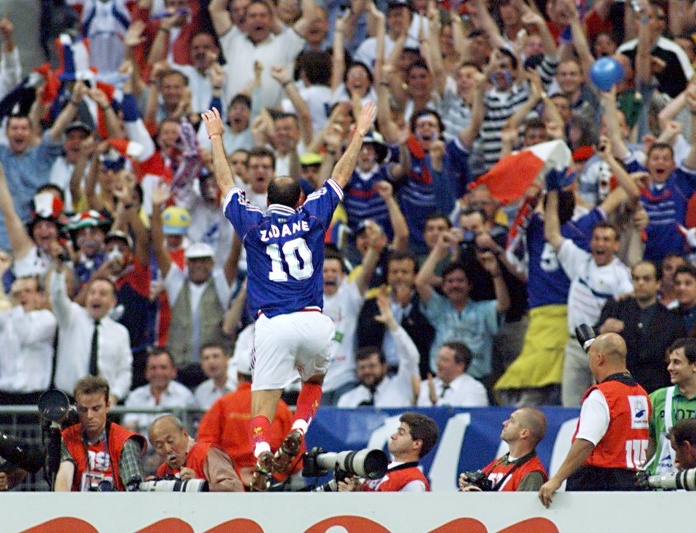 Zinedine Zidane le 12 juillet 1998
