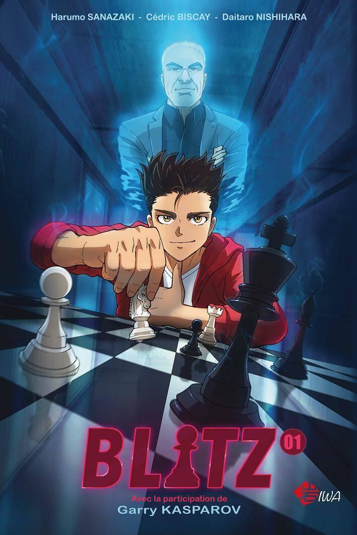 """Le manga made in Monaco """"Blitz"""", réalisé avec la participation du maître des échecs, Garry Kasparov."""