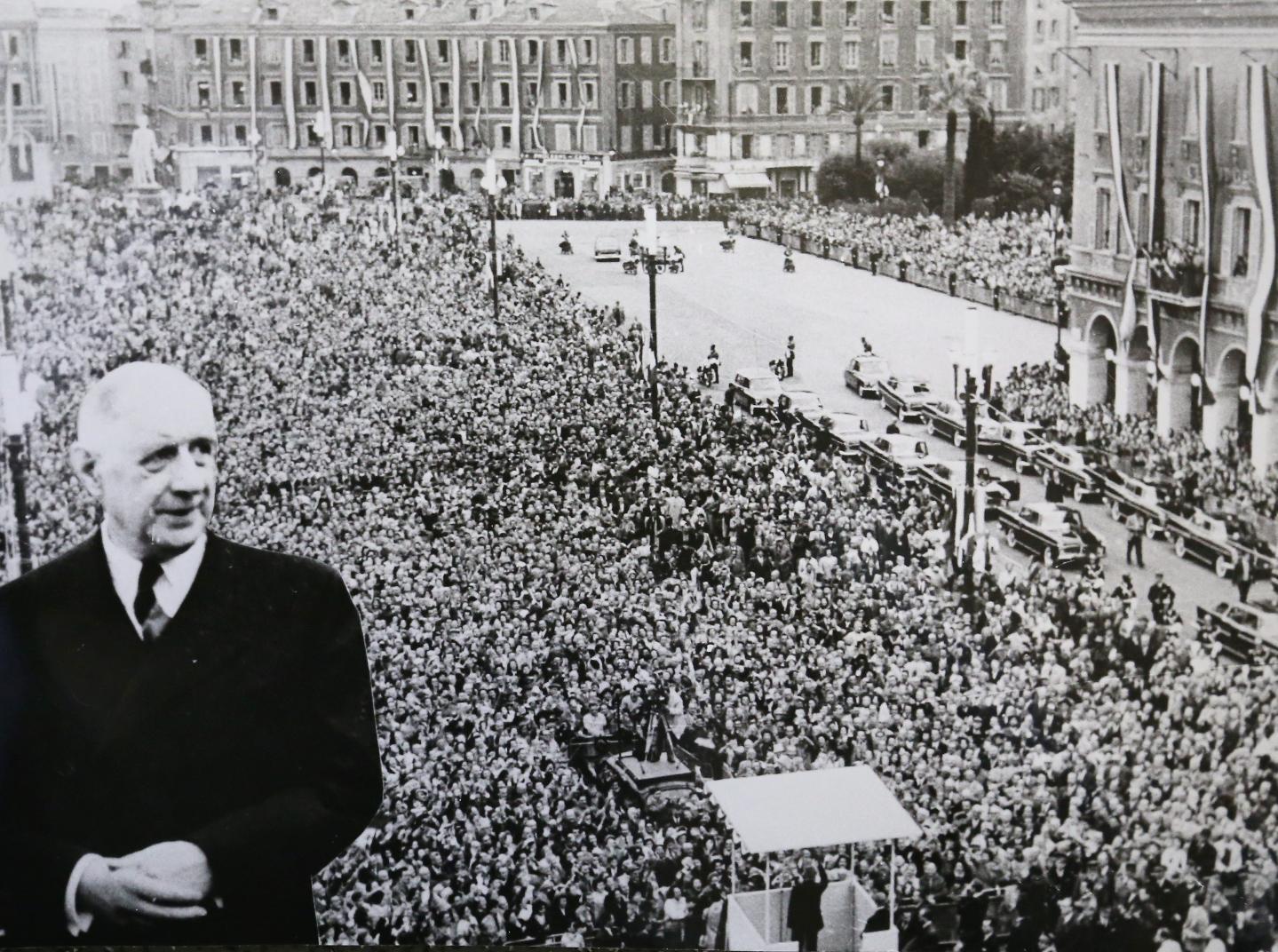 À Nice, le 22 octobre 1960.