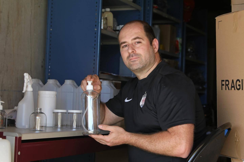 Jean-Andre Rognone, fondateur de Topflacon à Saint-Laurent-du-Var.