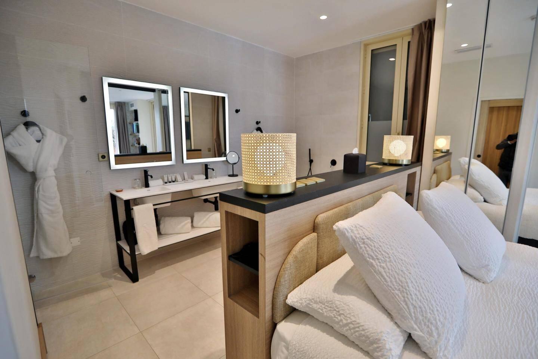 Les chambres portent le nom d'une pierre semi-précieuse.