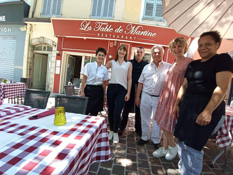 La Table de Martine à Draguignan.