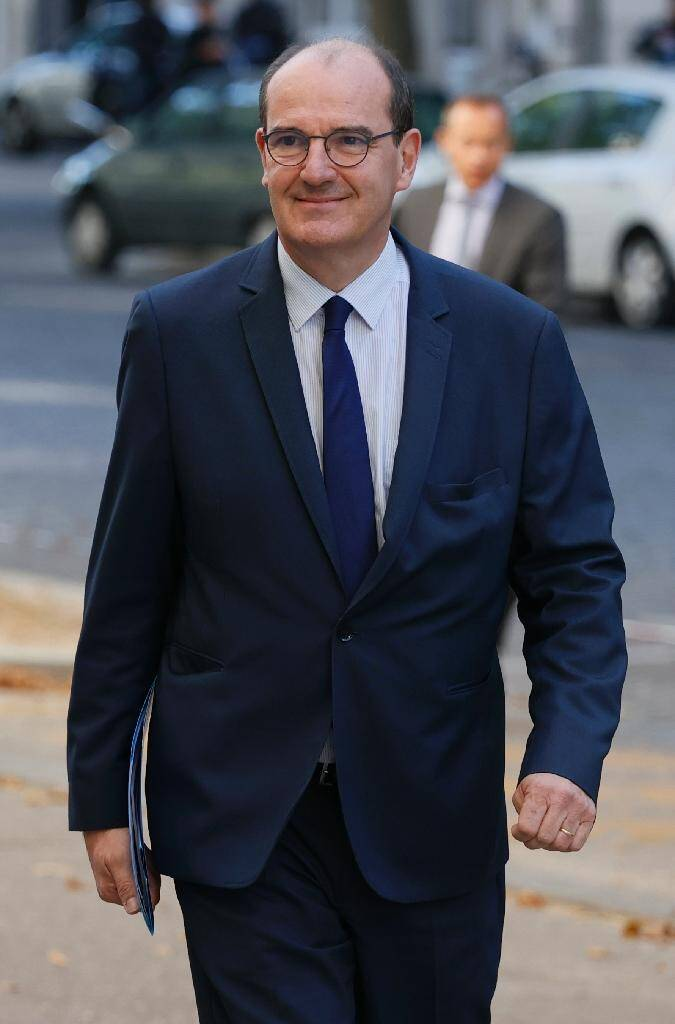 Le Premier ministre Jean Castex arrive à un séminaire de travail du nouveau gouvernement, le 11 juillet 2020 à Paris