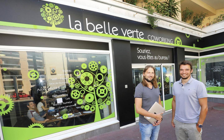 Deuxième espace de La Belle Verte: celui d'Antibes a ouvert en janvier de cette année.