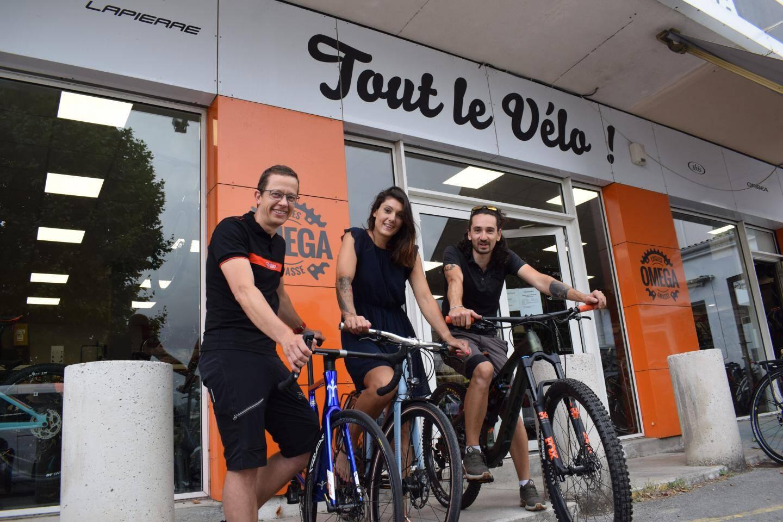 """Face à la forte affluence, Cycles Omega a dû faire des choix, comme arrêter le """"Coup de pouce vélo"""", trop gourmand en temps."""