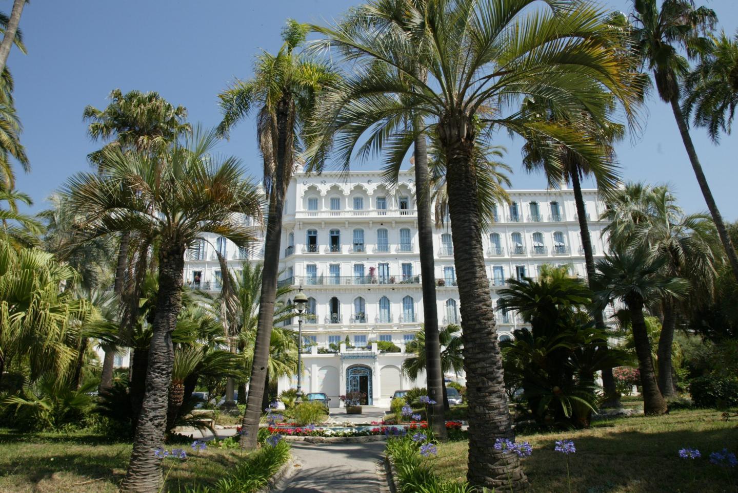 L'Orient Palace, d'inspiration orientaliste issue de l'Inde des maharajahs.