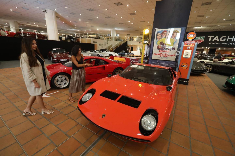 Une somptueuse Lamborghini Miura P400 de 1967. Estimation : 875.000 - 1 050 000 euros.