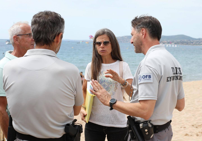Hier matin, Sidonie Catteau et les représentants de l'agglomération ont multiplié les visites.