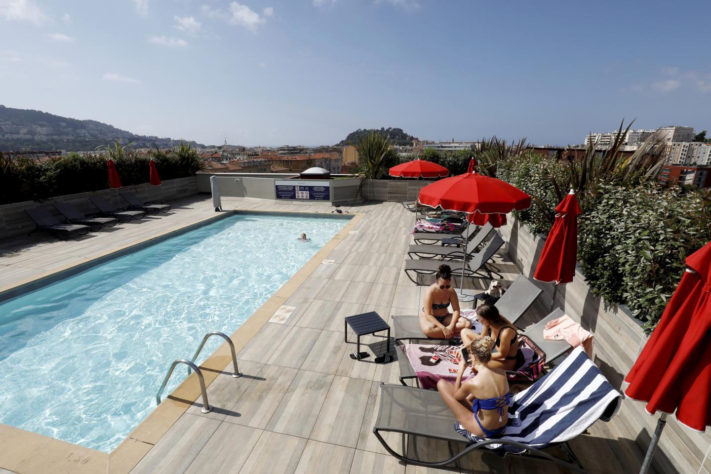 Le Novotel, à Nice